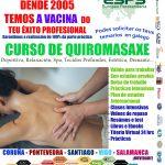 Cursos de quiromasaxe en Coruña, Pontevedra, Santiago e Vigo