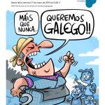 Cartaz Queromos Galego